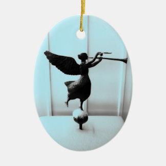 Folk Art Angel Ornament