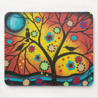 FOLK ART BY LORI EVERETT A Morning With You Mouse Pad