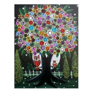 Folk Art BY LORI EVERETT postcard
