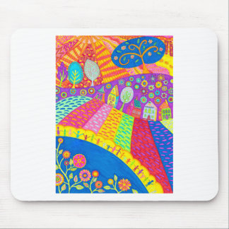 Folk Art Mouse Pad