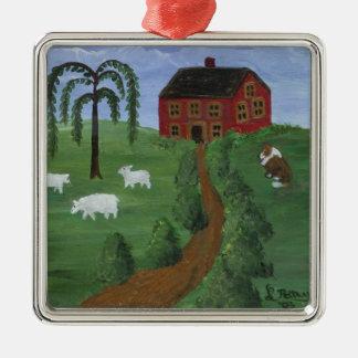 Folk Art Ornament