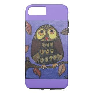 Folk Art OwlDesign Case-Mate iPhone Case