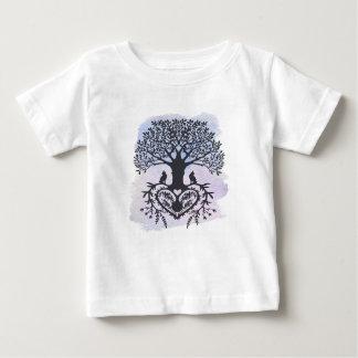 Folk Art Tree of Life Baby T-Shirt