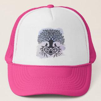 Folk Art Tree of Life Trucker Hat