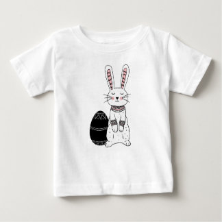 Folk Easter Bunny Rabbit Baby T-Shirt