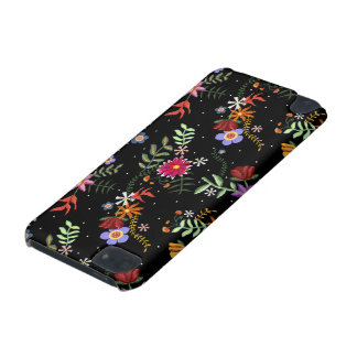 Folk embroidering iPod touch 5G case