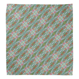 Folk Garden Patterned Bandana