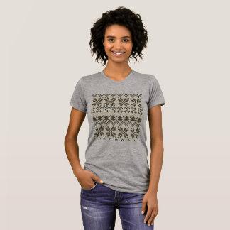 Folk grey t-shirt is nice idea