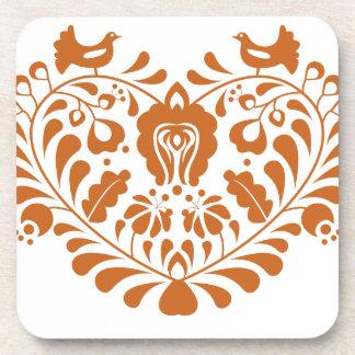 Folk Hearth Coaster