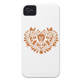 Folk Hearth iPhone 4 Case