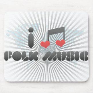 Folk Music fan Mouse Pad