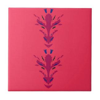Folk ornaments Red Tile