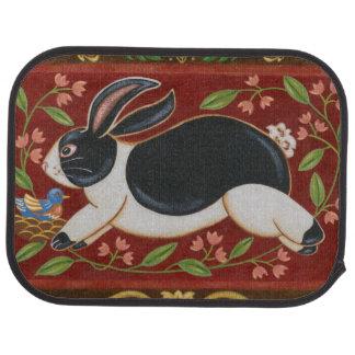 Folk Rabbit Car Liners