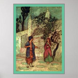 Folk Tales of Bengal ~ Vintage Fine Art Print