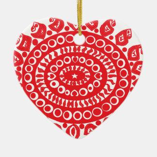 Folk Theme Christmas Tree Ornaments