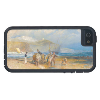 Folkestone Harbour and Coast to Dover, 1829 iPhone 5 Covers