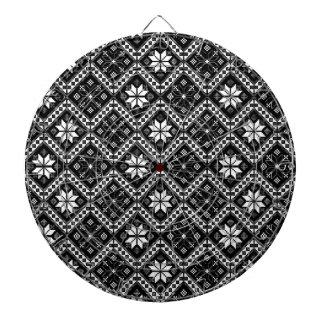 Folklore pattern dart boards