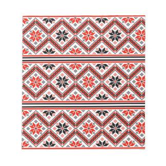 Folklore pattern notepad