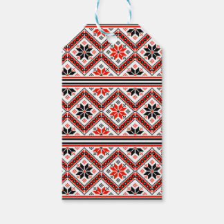 Folklore pattern pack of gift tags