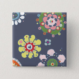 Folksie 2 Inch Square Button