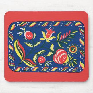 folky Pennsylvania Dutch motif Mouse Pad