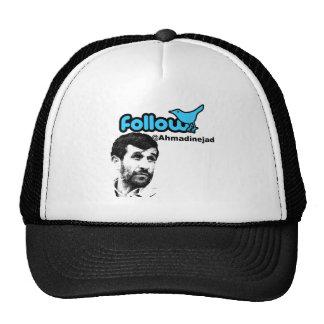 Follow Ahmadinejad Trucker Hat