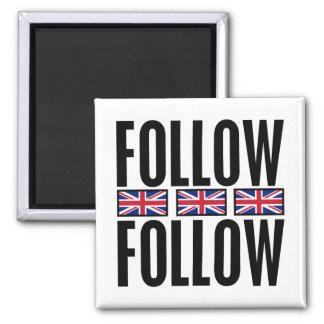 Follow Follow, 3 Flags Magnet
