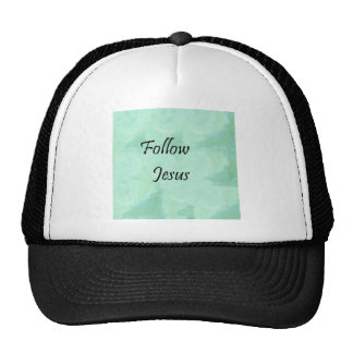 Follow Jesus Trucker Hat