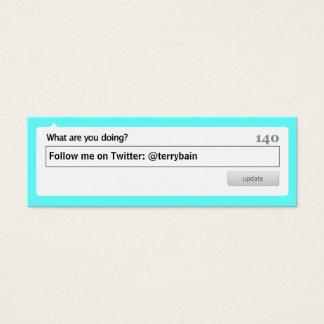 Follow Me Mini Business Card