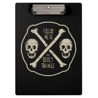 Follow Me To The Devil's Triangle Clipboard