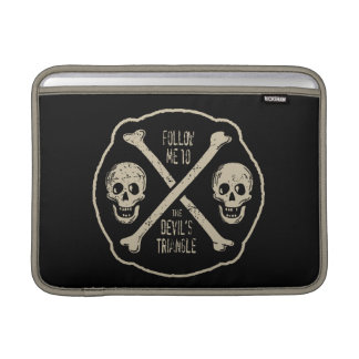 Follow Me To The Devil's Triangle MacBook Sleeve