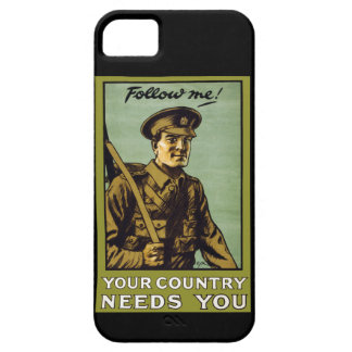 Follow Me! ~ Your Country Needs You iPhone 5 Covers