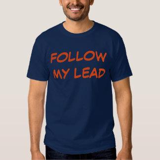"""Follow My Lead"" t-shirt"