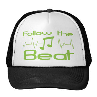 Follow the beat hats