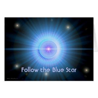 Follow the Blue Star HOME Card