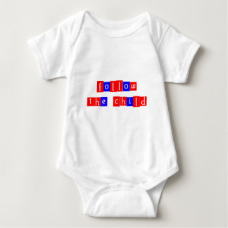 Follow the child baby bodysuit