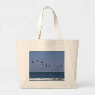 Follow the Leader Large Tote Bag