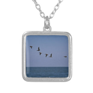 Follow the Leader Silver Plated Necklace