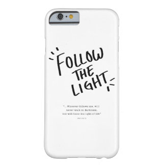 Follow The Light Barely There iPhone 6 Case