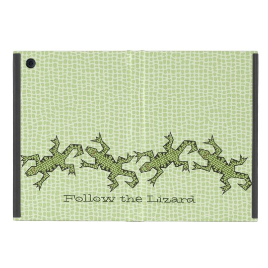 Follow the Lizard Cover For iPad Mini