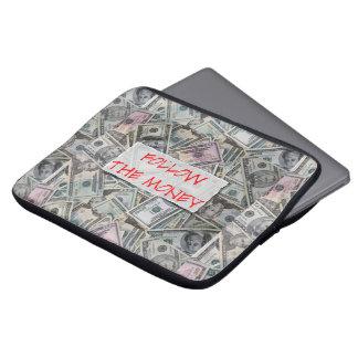 """Follow the Money 13 """" Laptop Case"""