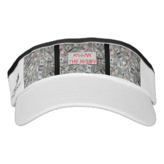 Follow the Money Sun Visor