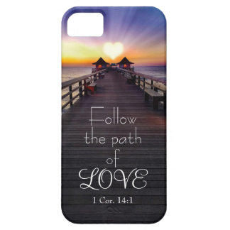 Follow the Path of Love with Scripture Phone Cases