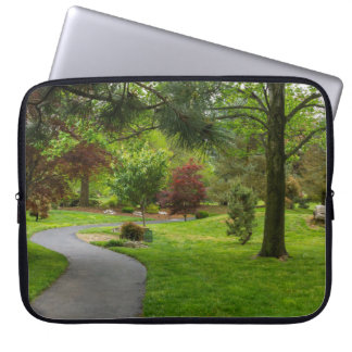Follow The Path Pano Laptop Sleeve