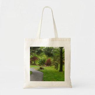 Follow The Path Pano Tote Bag