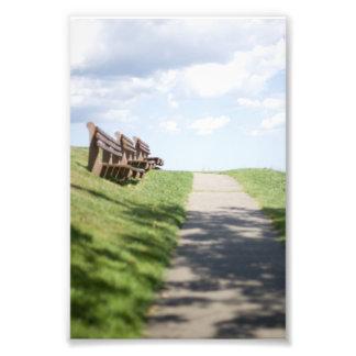 Follow the Path Photo Print