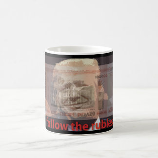 follow the rubles mug