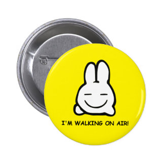 FOLLOW THE WHITE RABBIT! 2 INCH ROUND BUTTON