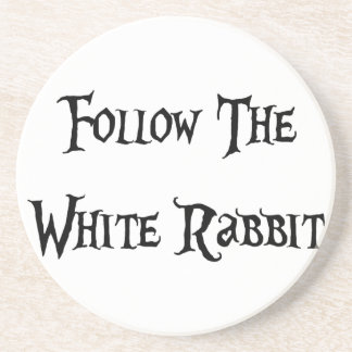 Follow the White Rabbit Alice Coaster