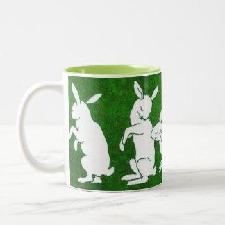 Follow the White Rabbit mug